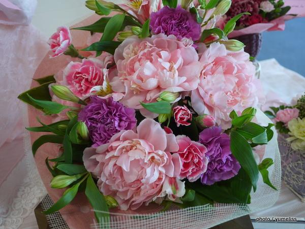 イイハナ・ドットコム母の日花束「芍薬(しゃくやく)」