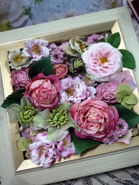 母の日 日比谷花壇デザイナーズ「アーティフィシャルフラワー」