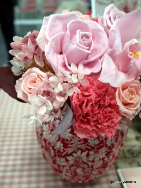 日比谷花壇リバティプリント「母の日」アレンジメント