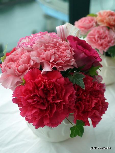 日比谷花壇「母の日」フラワーアレンジメント