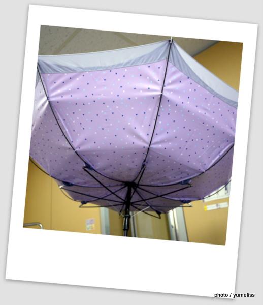 ベルメゾン晴雨兼用傘