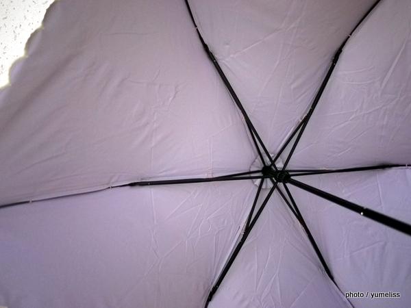 ベルメゾン晴雨兼用折り畳み傘