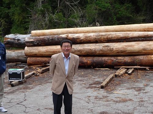 野地社長から熊野材にかける篤い想いが聞けました。