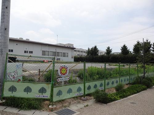 8月から着工する放課後クラブの敷地