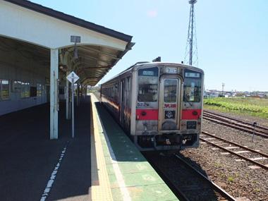 9根室駅到着0601