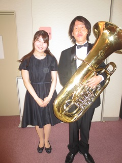 after比果tuba