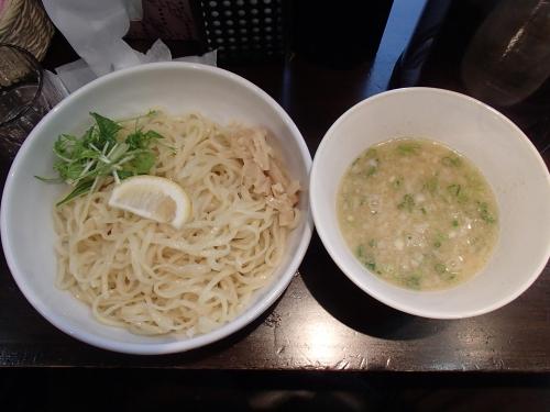 麺屋 武一 秋葉原店 鶏白湯つけ麺塩_convert_20140302170713