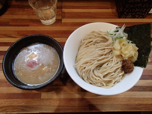 五ノ神水産 つけ麺銀ダラ絞り 味玉大盛り1150円_convert_20140403125502