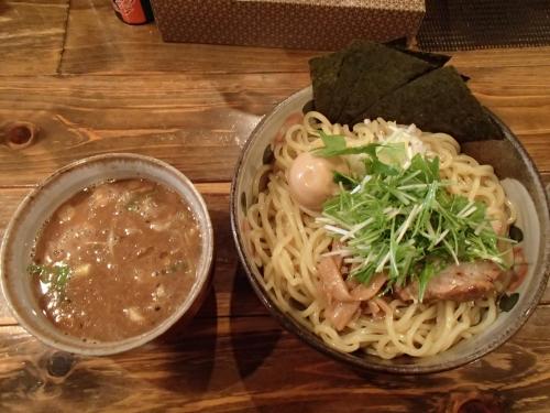 椿 特製つけ麺大盛り_convert_20140405200108