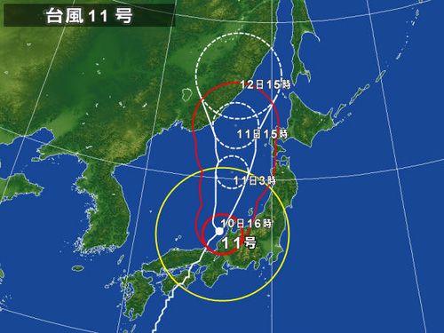 台風予想図