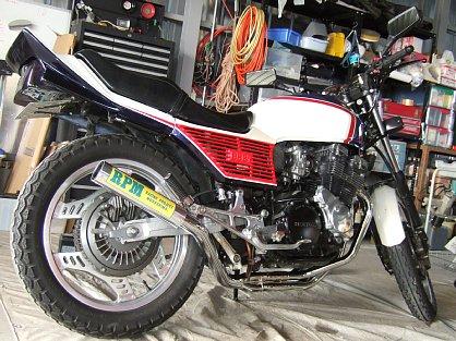 CBX550F RPM
