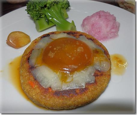 カレー風味ソイ(大豆)バーグアップ