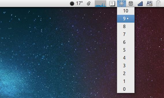 Ubuntu 14.04 Brightness Indicator