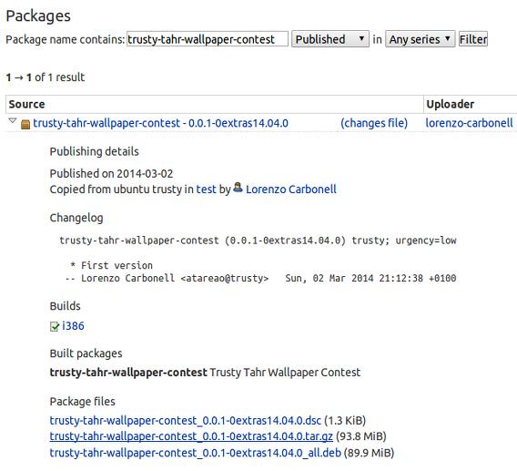 Ubuntu 14.04 壁紙コンテスト 壁紙アーカイブのダウンロード