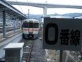 上諏訪駅0番線