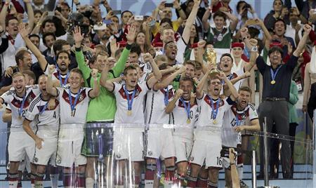 2014サッカーWC優勝ドイツ