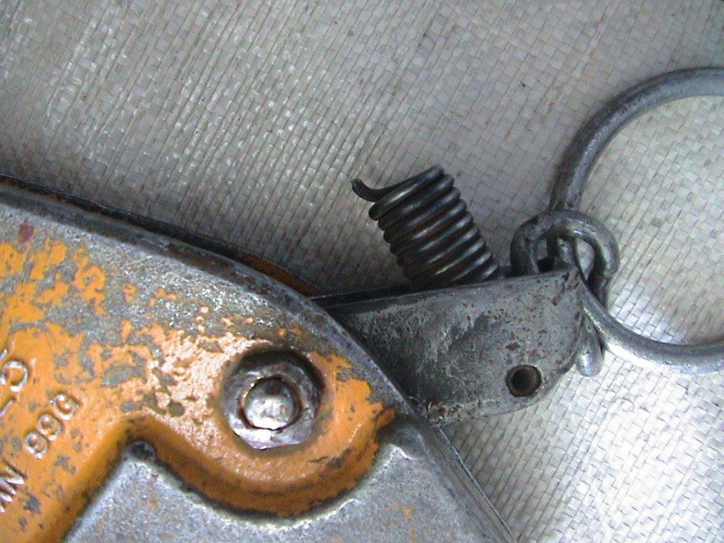 クランプ修理