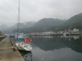 越前漁港の海坂