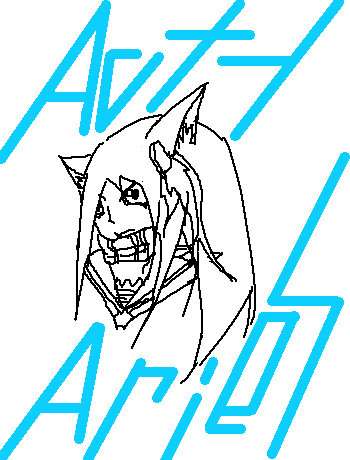 アクティさん初描き