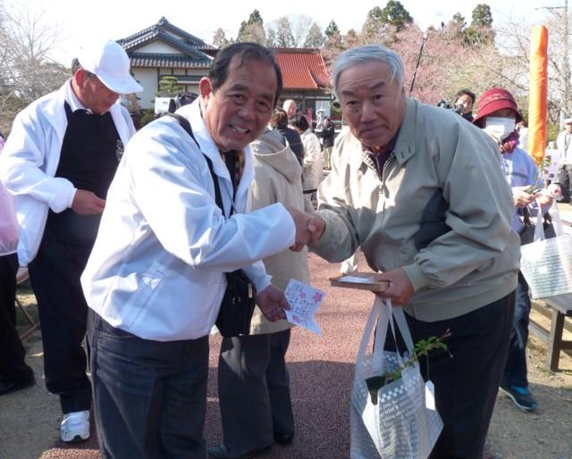 桜の手渡し2
