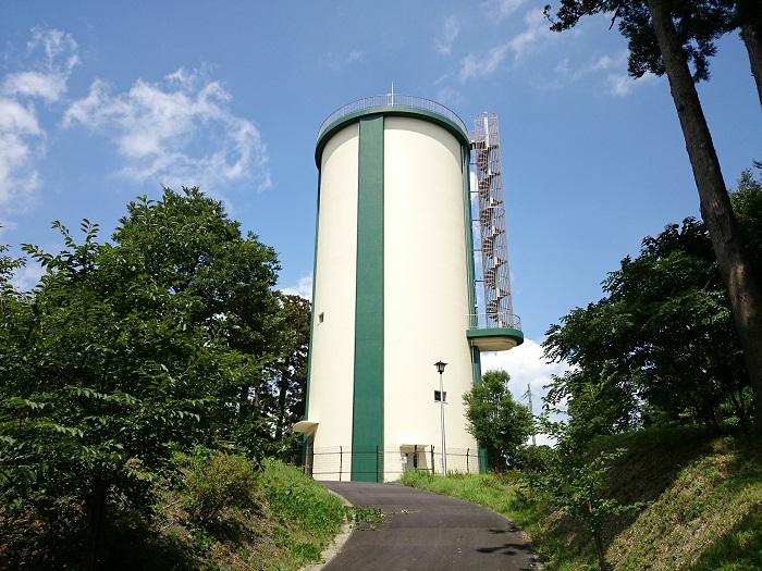 0728成田市東町配水場高架水塔