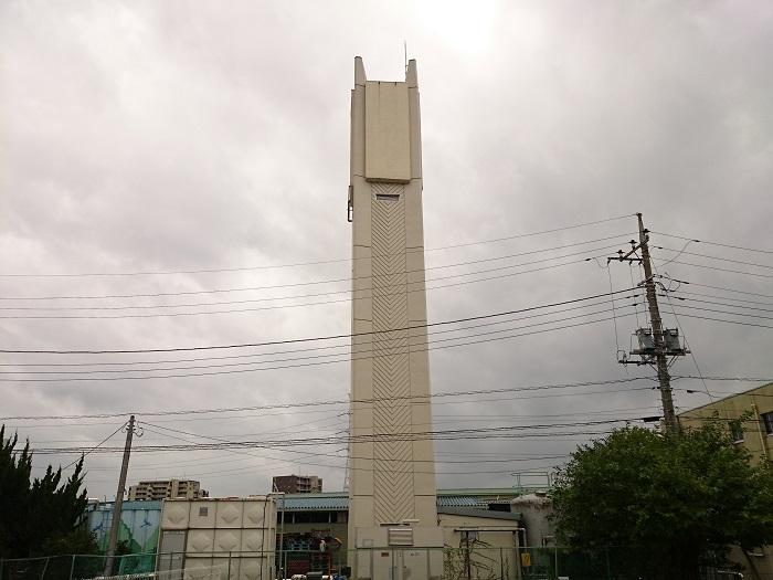 柏市公設総合地方卸売市場給水塔
