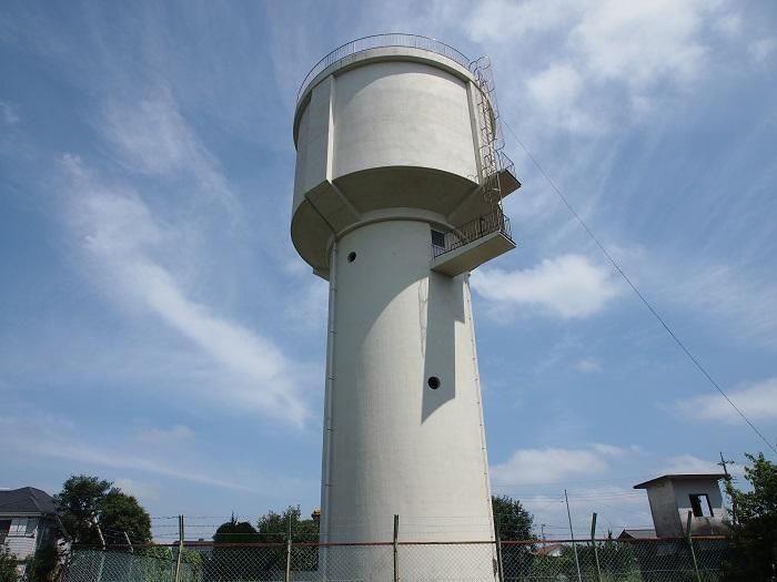 利根町営水道機場布川台配水場
