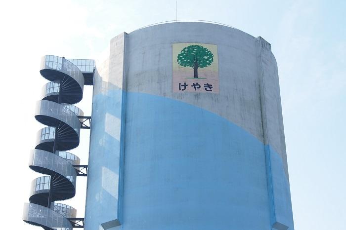 真岡市水道事業高架水槽09
