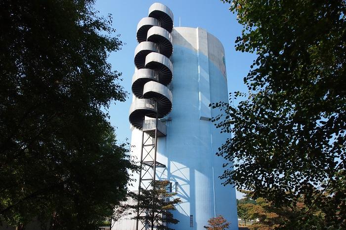 真岡市水道事業高架水槽05