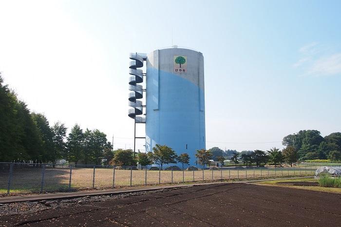 真岡市水道事業高架水槽04