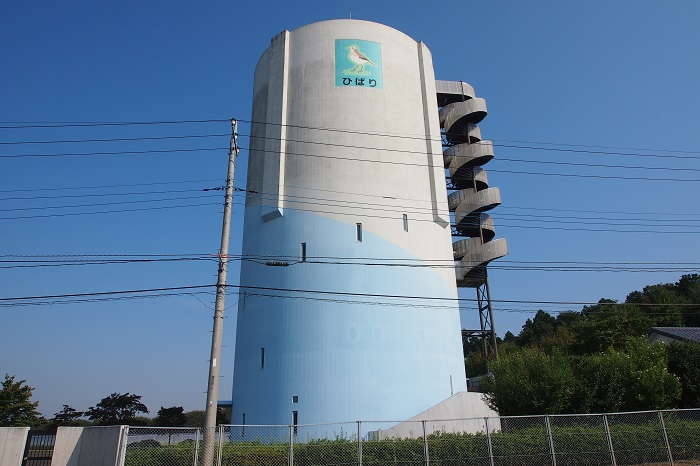 真岡市水道事業高架水槽02