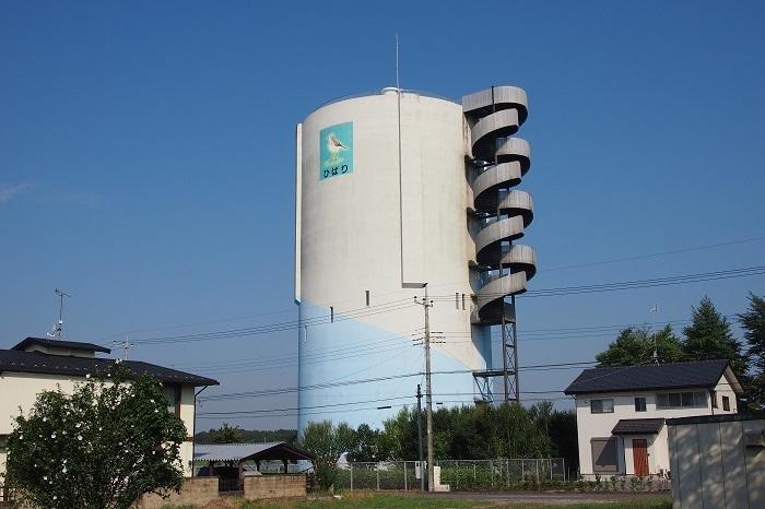 真岡市水道事業高架水槽01