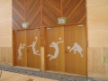 体育館 ドア