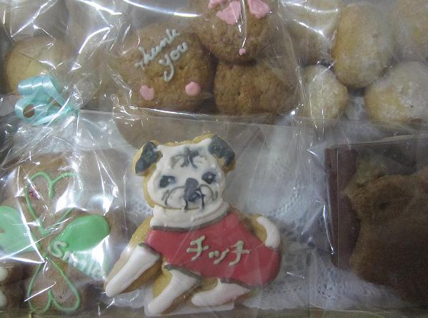 チッチくんクッキー。オジイなお顔がリアル・・(^.^)
