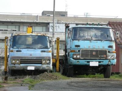 古いトラック