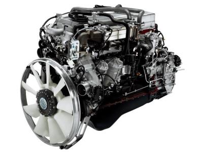 トラックのエンジン