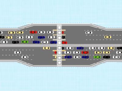 料金所で起こる渋滞