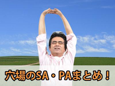 穴場のSA・PAまとめ