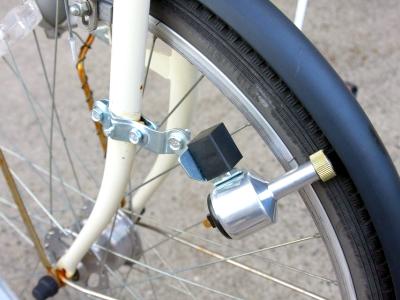 自転車のダイナモ