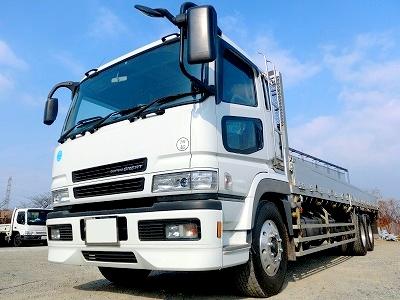 ターボエンジン搭載のトラック