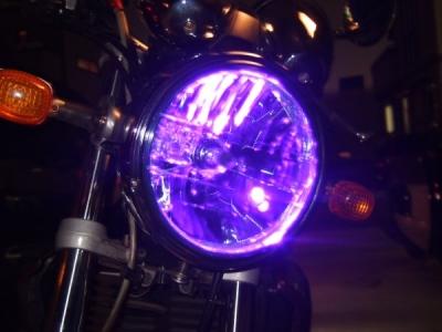 紫ポジションランプ