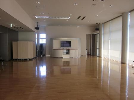 5.ジョブクラブの教室は、トレーニングフロア内にあります。
