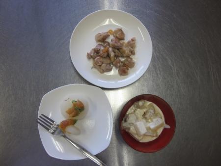 ふろふき大根と大根と鶏肉のクリーム煮