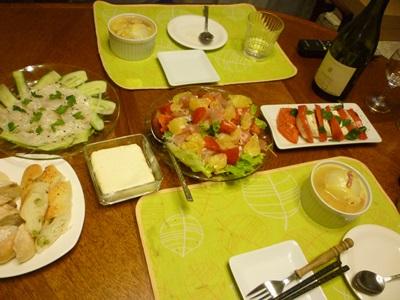 玉葱づくし夕食