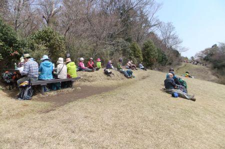 浅間山にて