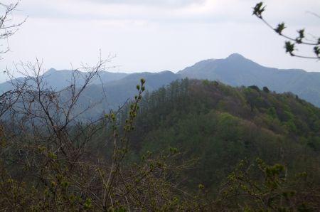 大岳山と鋸山