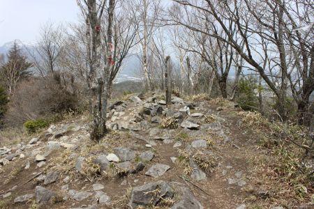 横尾山山頂