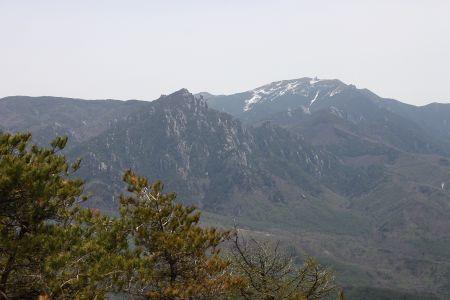 金峰と瑞垣