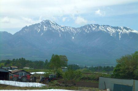 赤岳と横岳