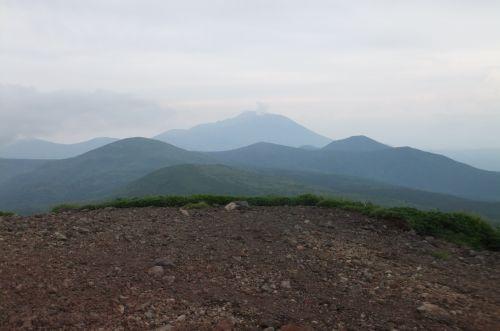 男女岳から岩手山